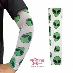 ساق دست پارچه ای رنگ روشن مدل alien
