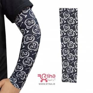 ساق دست  اسکلت دار مدل جمجمه فانتزی