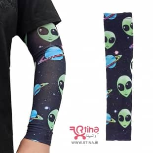 کاور/ ساق دست مدل آدم فضایی و سیاره