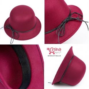 کلاه زرشکی شاپویی