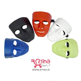 ماسک پلاستیکی صورت مدل نمایشی خنثی