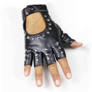دستکش چرم کوتاه