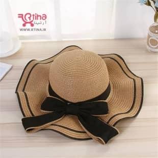 خرید کلاه شاپو حصیری زنانه