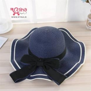 کلاه لبه دار سورمه ای