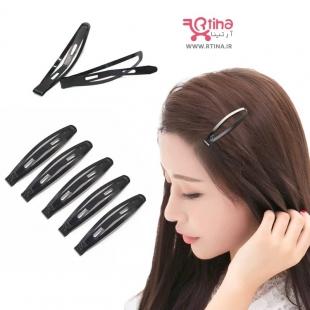 گیره مو سر دخترانه تق تقی