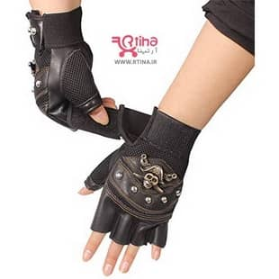 دستکش بدون انگشت چرم
