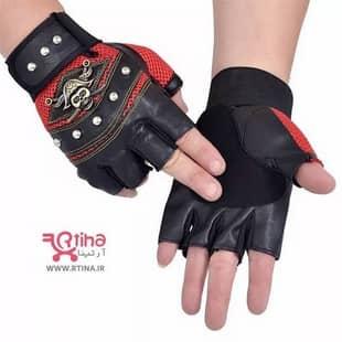 دستکش چرم اسپرت مردانه