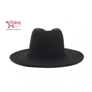 مدل کلاه فدورا زنانه مشکی