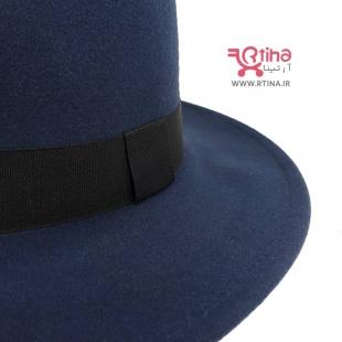 عکس کلاه شاپو زنانه سورمه ای