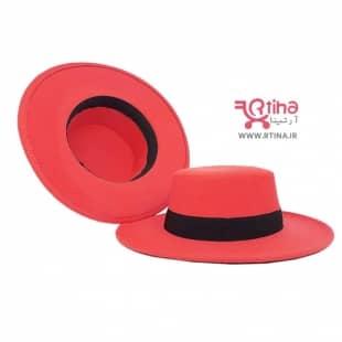 کلاه فیدورا دخترانه و زنانه (کلاه پاناما نمدی)