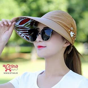 خرید کلاه لبه بلند زنانه