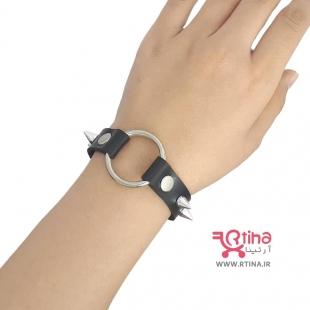 دستبند چرم اسپرت دخترانه