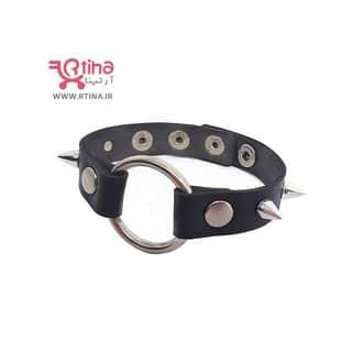 دستبند چرم دخترانه /پسرانه اسپرت مدل حلقه دار
