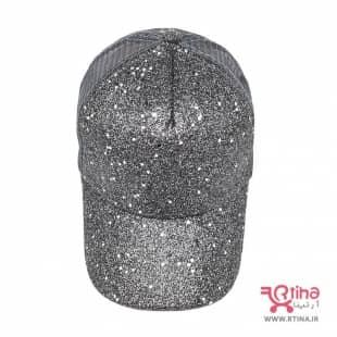 کلاه پشت توری نقابدار زنانه/ دخترانه مدل اکلیلی