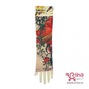 ساق دست تاتویی طرح گل رز