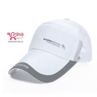 کلاه کپ سفید اسپرت