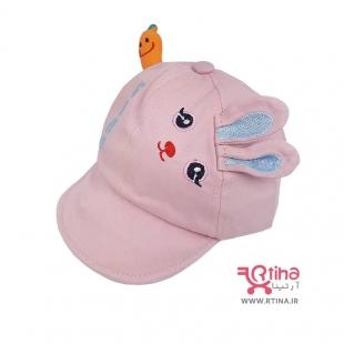 کلاه تابستانی نوزادی دخترانه