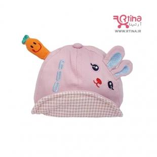 کلاه تابستانی نوزاد دختر