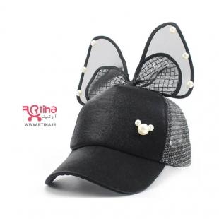 کلاه آفتابگیر بچگانه مشکی