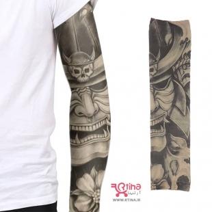 طرح تاتو روی ساق دست مردانه/ زنانه مدل شوالیه