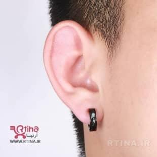 گوشواره بدون سوراخ مردانه / زنانه مدل اژدها (کلیپسی)