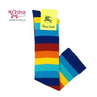 جوراب ساق بلند اسپرتی رنگی رنگی (تم جدید2022)