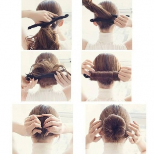 آموزش و طریقه بستن بامتل مو