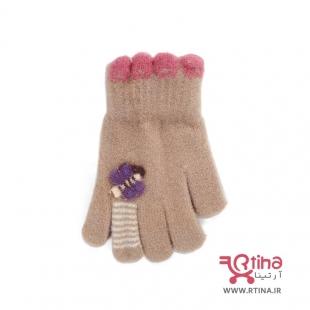 دستکش دخترانه زمستانه