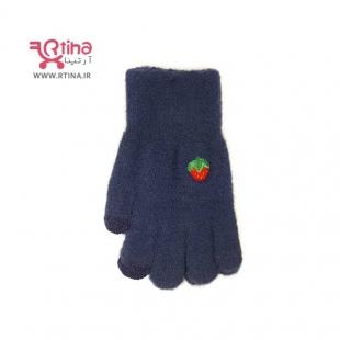دستکش بافتنی فانتزی دخترانه مدل میوه ای