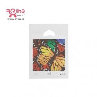 کیسه پلاستیک طرح دار مدل دسته موزی (بسته 100 عددی) 18*26