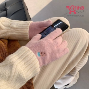 دستکش زمستانی زنانه/ دخترانه (بدون دوخت و درز) مدل میوه ای