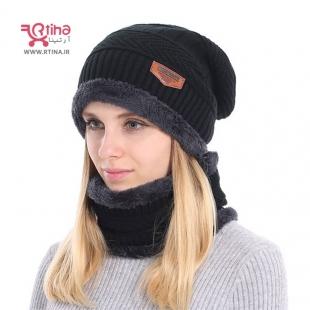 کلاه و شال گردن دخترانه
