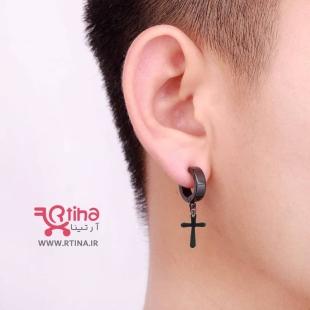 گوشواره صلیبی میخی