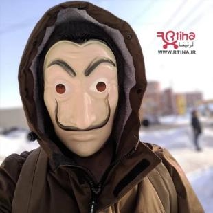 ماسک صورت money heist