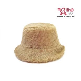 کلاه باکت زمستونی خز دار دخترانه و زنانه