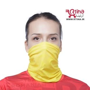 اسکارف و سربند ورزشی مردانه و زنانه رنگ زرد