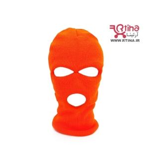 کلاه چشمی رنگی سه سوراخه فسفری نارنجی