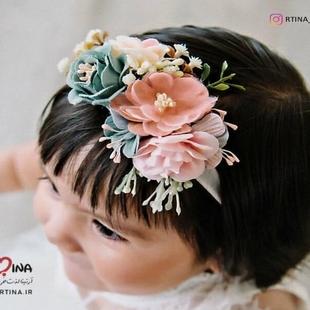 عکس گل سر نوزاد
