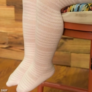جوراب شلواری پنبه سوزنی