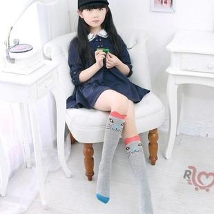 عکس جوراب بلند زیرزانو دخترانه