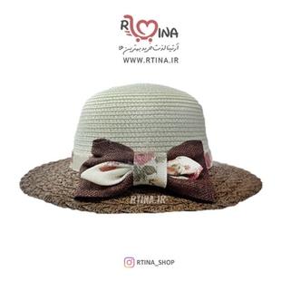 کلاه حصیری دخترانه طرح 2