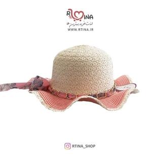 کلاه حصیری دخترانه طرح 1