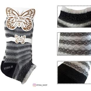 مدل جوراب مجلسی لمه ای