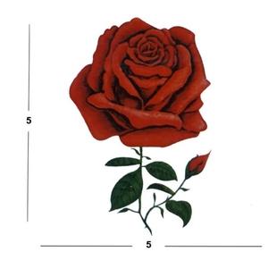 عکس تتو گل رز