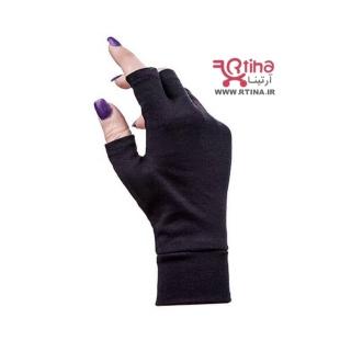 دستکش نخی نیم انگشتی ساده (نیم پنجه)