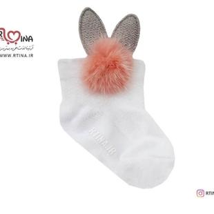 جوراب خز دار نوزادی