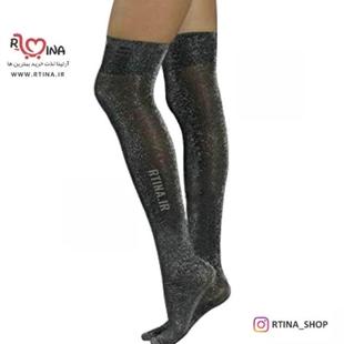 جوراب ساق بلند لمه ای