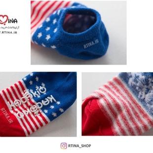 جوراب طرح پرچم آمریکا