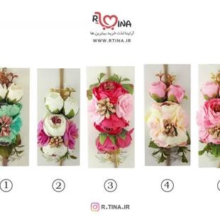 عکس تل نوزادی گل دار