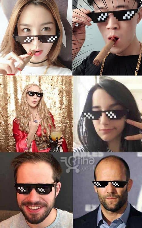 قیمت عینک تولد جدید و خاص